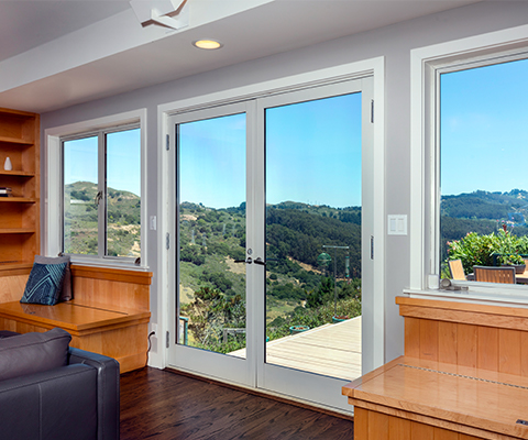 aluminum doors in residential homes